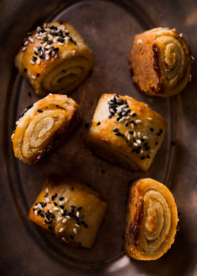 Apricot Rosemary Rugelach
